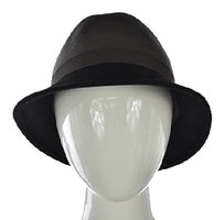 Other Giovannio Ny Womens Gray Wide Brim Hat Os Wool Color Block Casual