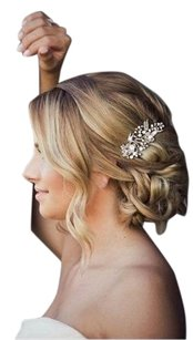 High Quality Hair Comb Crystals And Pearls