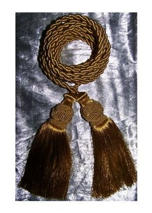 Holiday Drapery Cord with Tassels