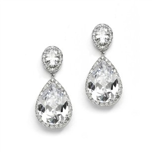 Hollywood Glam Crystal Bridal Earrings