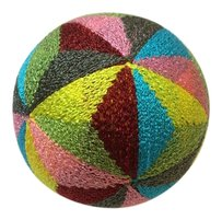 Japanese Gorgeous Kaleidoscope Temari Traditional Handmade Ball Diameter 8cm