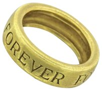 Other Vintage Estate 18k Solid Yellow Gold Forever Band Ring