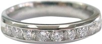 Platinum,10-stone,Round,Cut,Diamond,Anniversary,Ring,.55ct,Sz,5.5