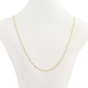 Other Rope Chain Necklace 14 - 14k Yellow Gold Womens