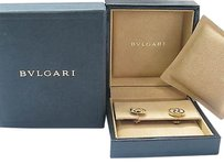 Bvlgari,18kt,Mother,Of,Pearl,Optical,Stud,Earrings,Yg,13mm