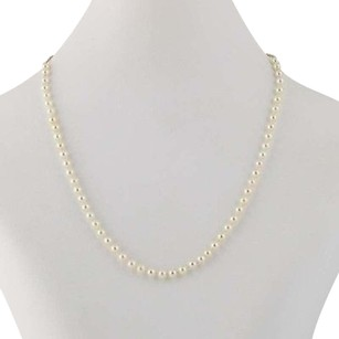 Other Cultured Pearl Necklace 12 - 14k Yellow Gold 4mm - 4.1mm June Gift