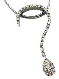 Platinum,Pink,Diamond,Pendant,Necklace,.55ct