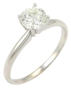 Round Cut 0.93ct J Vs1 Solitaire Diamond Engagement Ring Wgia Certificate