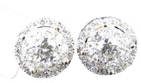 14k,Yellow,Gold,Solitaire,Look,Vs,Diamond,Stud,Earrings,11mm,1.5,Ct