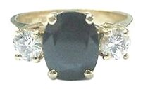 Other Fine,Gem,Sapphire,Diamond,3-stone,Anniversary,Jewelry,Ring,Yg,2.27ct
