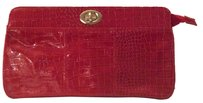 Other Large Turnlock Red oversize Clutch