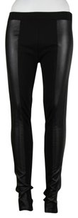 Other Fire Los Angeles Womens Color Pleather Trousers Pants