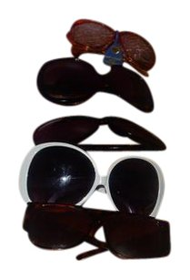 Other lot of 5prs of oversized sunglasses