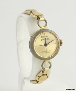 Other Marcel Boucher Womens Wrist Watch As Is Not Working For Parts Repair Mechanical