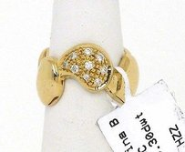 Marina B. 18k Yellow Gold 0.25ct Diamonds Virgo Collection Ring