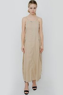 Beige Maxi Dress by Le Jean Marithe Francois