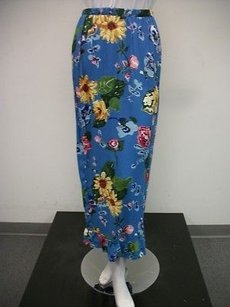 My Boyfriends Back Painted Maxi Skirt Multi-Color