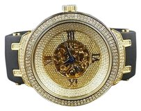 Mens Joe Rodeojojo Master Diamond Watch 2.2 Ct Jjm72
