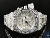 Mens Jojino By Joe Rodeo Simulated Diamond Ap Watch Gold Mj-8027 - Limited Qty