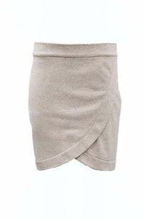 Matison Stone Ellie Mini Mini Skirt Heather grey