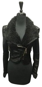 Other Harlow Zee Faux Reptile Polyester Lined Cropped Sma10750 Motorcycle Jacket
