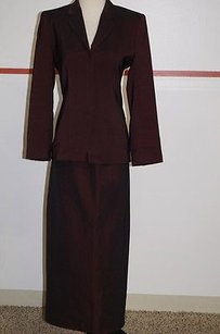 Other Noviello-bloom Burgundy Skirt Suit 4 Gorgeous 8630