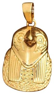 Other Owl Pendant Charm 18k Yellow Gold Unique Design Mens Womens On Sale