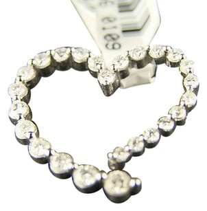 Ladies 12 Ct Journey Heart Diamond Si Pendant Charm