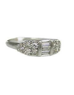 Platinum Diamond Ladies Ring