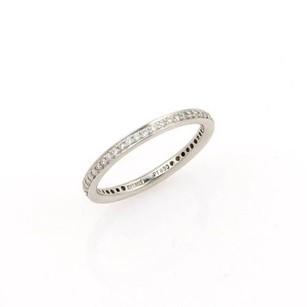 Ritani Platinum 950 Pave 0.35ct Diamond Eternity Ring Band -