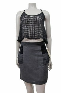 Bird Juicy Couture Charcoal Skirt Black