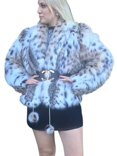 Other Russian Lynx Spotted Fur Coat