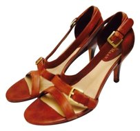 Cole Haan Carmel brown leather Sandals