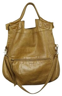 Foly Corinna Womens Satchel in Tan