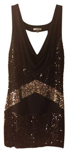 Other Sequins Cocktail Formal Dinner Black Dress