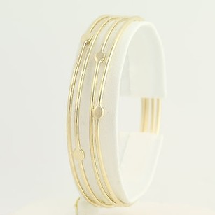 Other Set Of Four Bangle Bracelets 14 - 14k Yellow Gold Womens