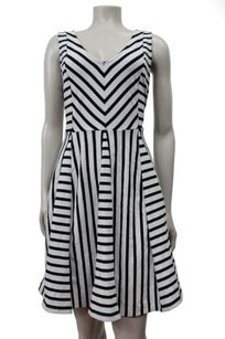 Other Saturday Sunday Anthropologie Striped Day Fit Flare Dress