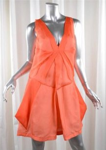 short dress Orange Rue Du Mail Womens on Tradesy