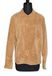 Clothes By Revue Tan Suede Browns Jacket