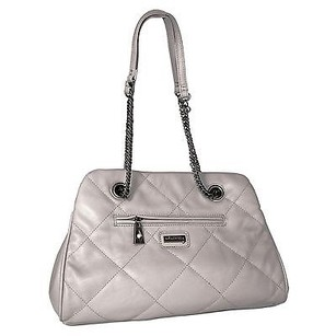 Miadora Kimberly Silver Shoulder Bag