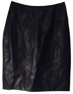 La Nouvella Renaissance Size 14 Leather Skirt Skirt