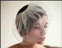 Soft Bridal Veil Color Ivory