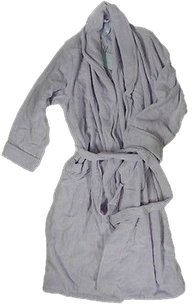 Spa By Charter Club Calm Iris Belted Terry Bathrobe Robe