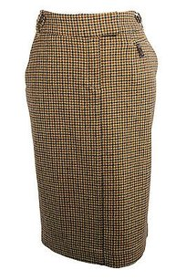 Henry Cottons Womens Pencil Skirt brown