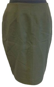 Other Straight Pencil Skirt Green