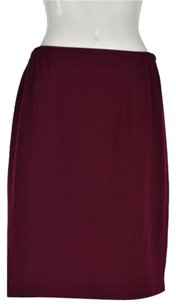 Other Straight Skirt Maroon Purple
