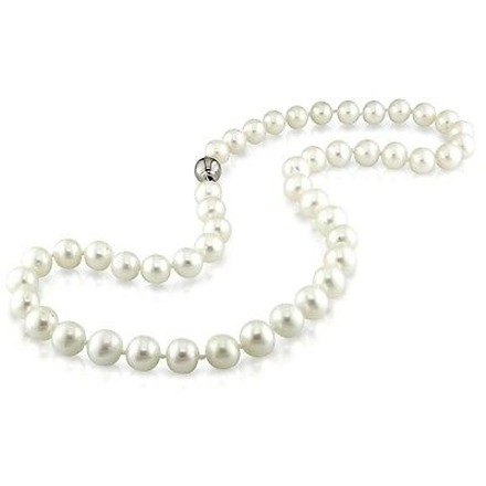 Other Amour 9-10 Mm Freshwater Semiround Pearl Necklace 18 Strand W Silver Ball Clasp