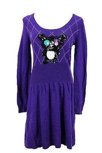 short dress purple Whos Who Womens on Tradesy