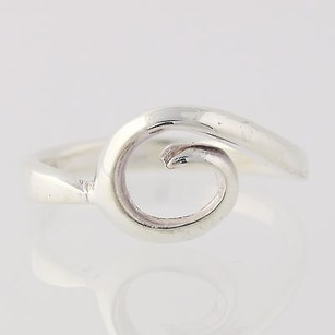 Swirl Ring - Sterling Silver 925 Polished