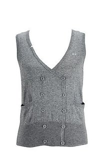 Other Sun 68 21226 Solid Womens Top Grey